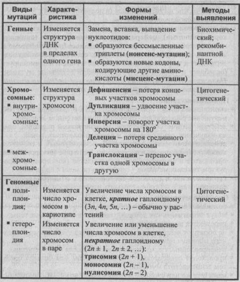 mutatsii-svyazannyie-s-izmeneniem-geneticheskogo-materiala